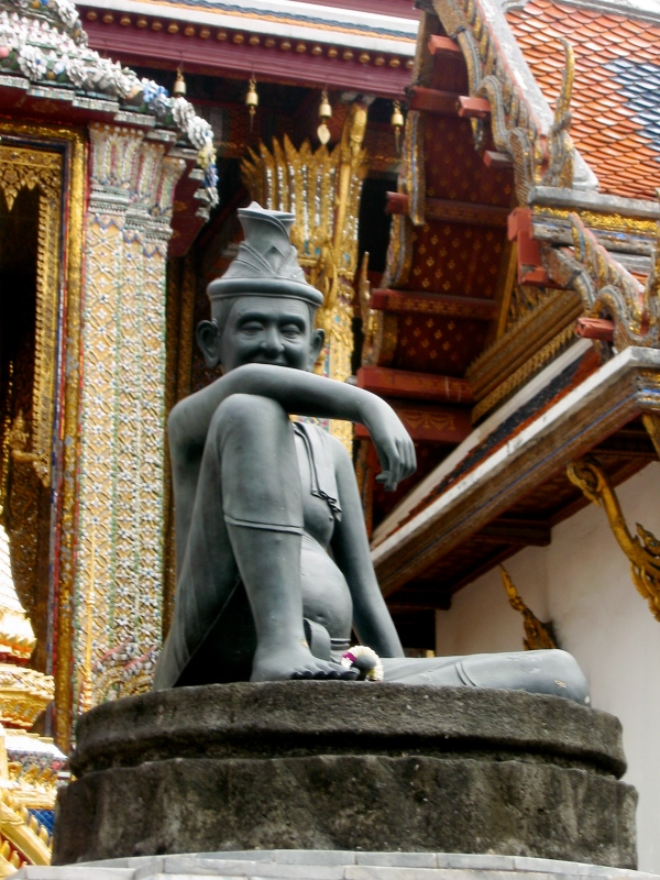 SEATED HERMIT (PHYSICIAN) Wat Phra Kaew Temple