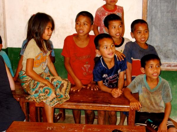 KHMU VILLAGE SCHOOL CHILDREN