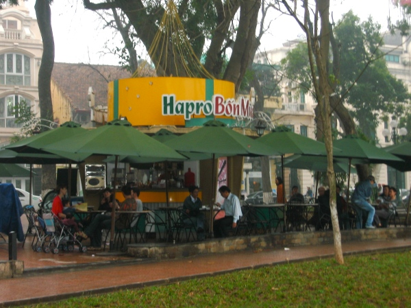 RESTAURANT AT HOAN KIEM LAKE  HANOI