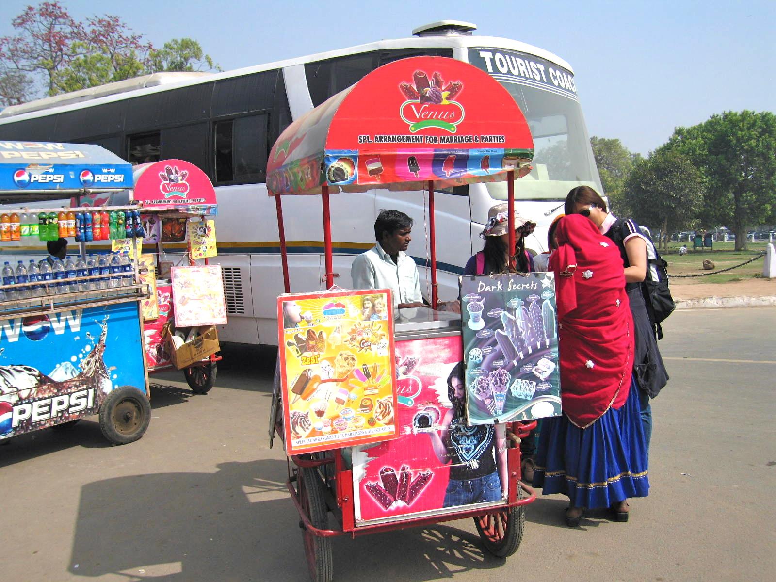 Ice Cream Poem Ice Cream Vendor at The India