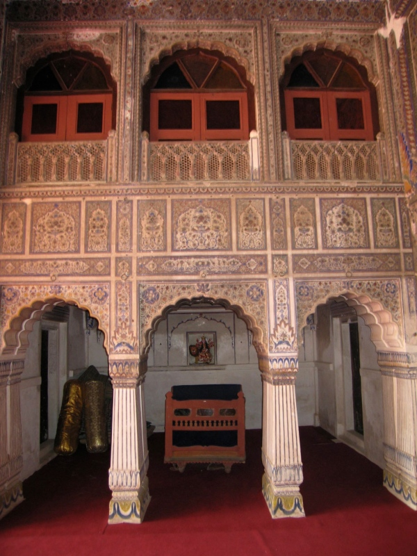 HALL OF AUDIENCESWHERE THE MAHARAJAH WOULD RECEIVE HIS VISITORS