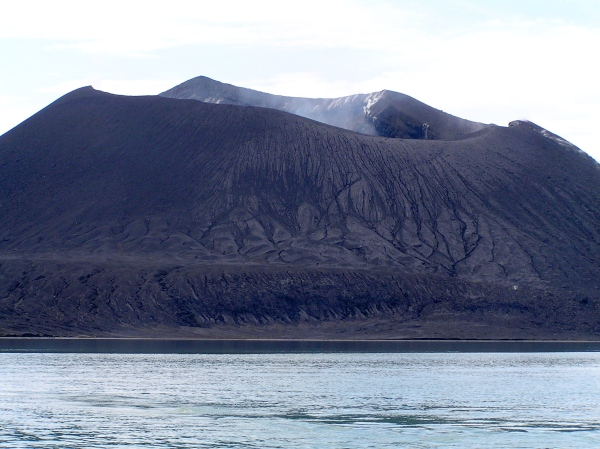 MT. TUVURVUR (CLOSE UP)