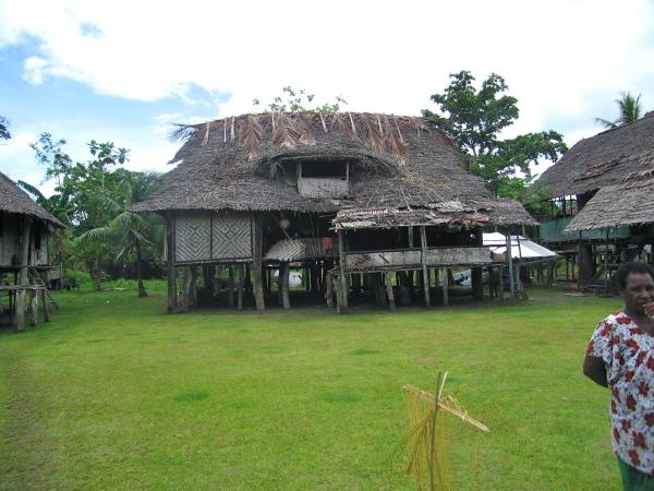 A WATAM VILLAGE HOUSE WHERE A CLAN MIGHT LIVE