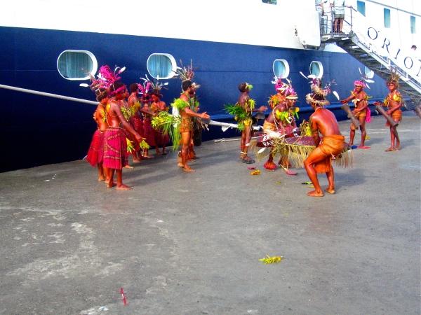 WELCOME TO MADANG BY A TRADITIONAL DANCE GROUP