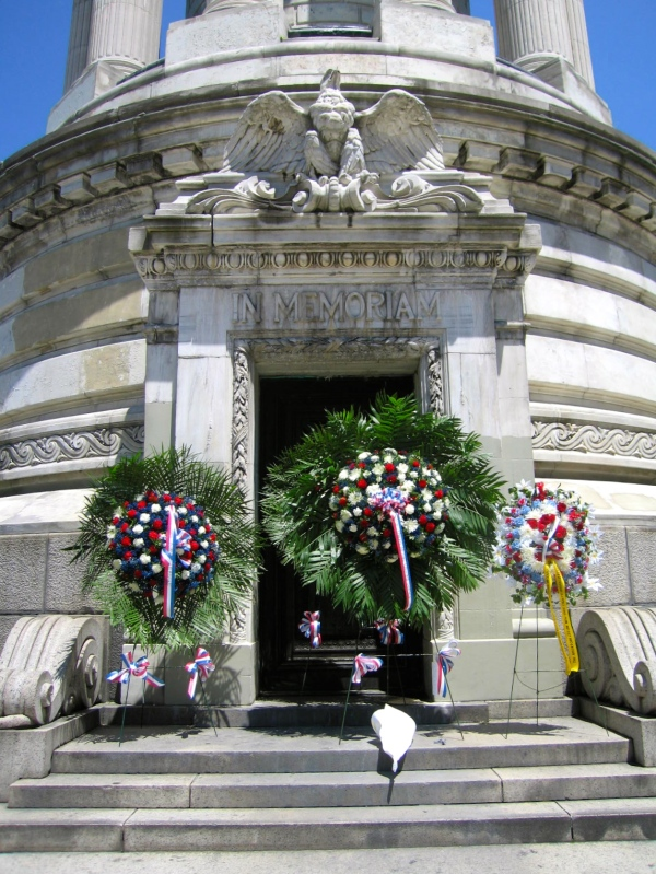 MEMORIAL DAY  MAY 27  2013 AT THE SOLDIERS' AND SAILORS' MONUMENT