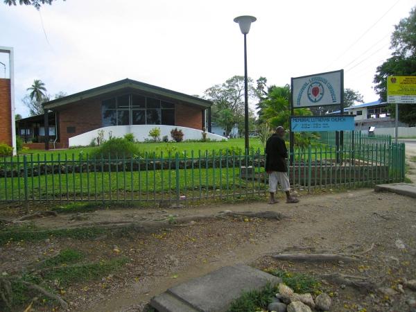 MEMORIAL LUTHERAN CHURCH MADANG TOWN