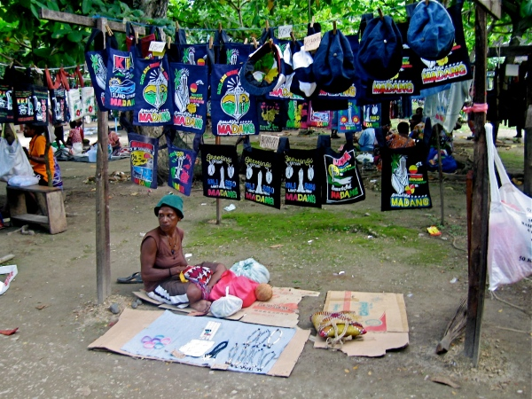 VENDOR SELLINH MADANG IMPRINTED SHOPPING BAGS