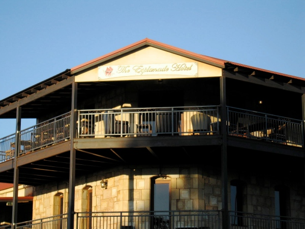 THE ESPLANADE HOTEL. PORT HEDLAND (DETAIL)