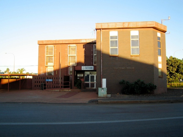 CUSTOMS HOUSE AT PORT HEDLAND