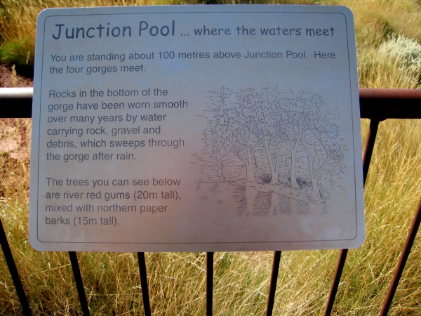 JUNCTION POOL SIGN