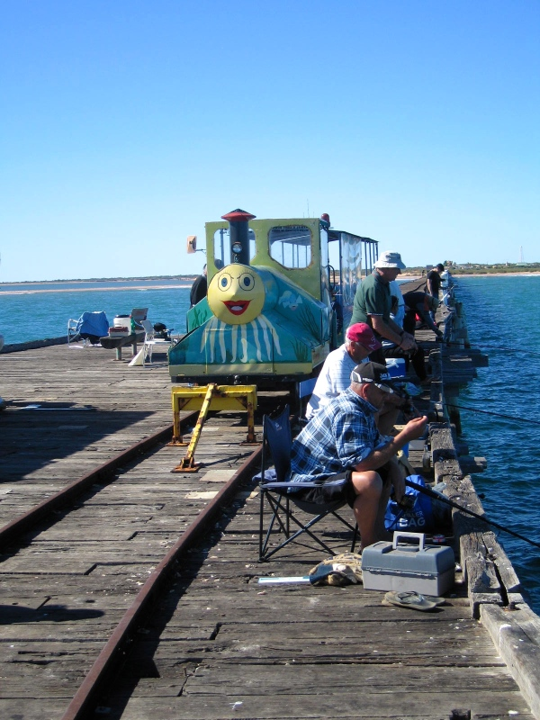 FISHING OFF THE ONE MILE JETTY