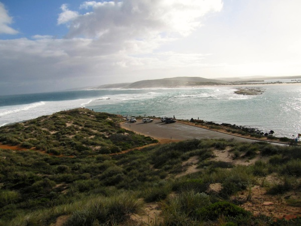 ZUYTDORF WENT AGROUND HERE IN KALBARRI