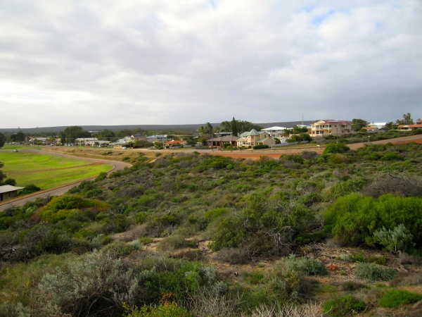 KALBARRI SEEN FROM A NEARBY LOOKOUT