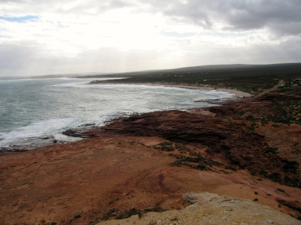 RED BLUFF AT KALBARRI