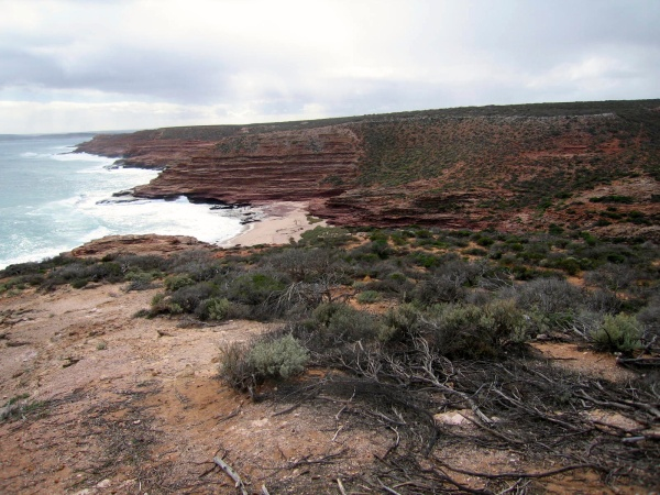 RUGGED CDOASTLINE AT KALBARRI