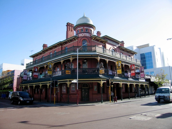 BRASS MONKEY HOTEL NORTHBRIDGE PERTH