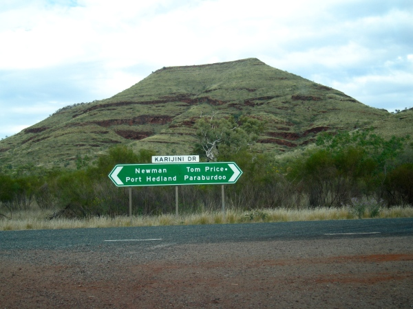 WE NOW HEAD TO CORAL BAY  AND WILL GO THROUGH PARABURDOO