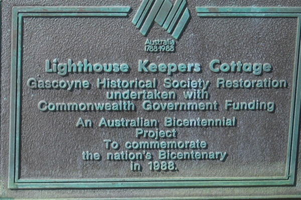LIGHTHOUSE KEEPERS COTTAGE CARNARVON