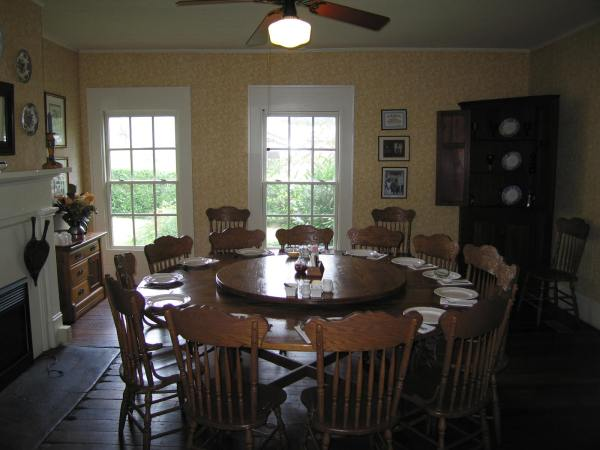 Miss Mary Bobo's Boarding House Dining Room