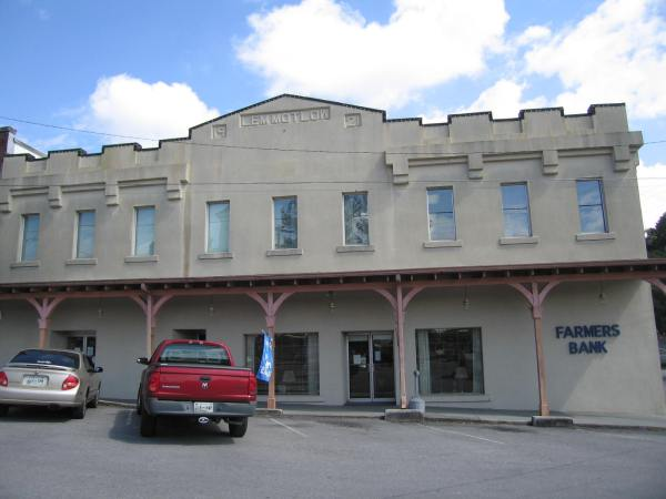 Farmers Bank, Lynchburg, tennesse