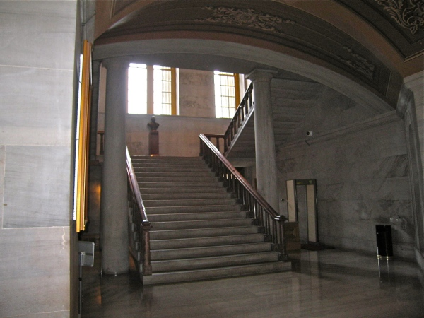 TENNESSE STATE CAPITOL  ENTRANCE