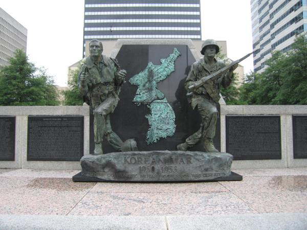 Nashville's Korean War Memorial -- built in 1992 and located within the city's War Memorial Plaza complex -- honors the memory of the 843  NASHVILLE'S KOREAN WAR MEMORILAL - Tennessee citizens killed during the 1950-1953 conflict.