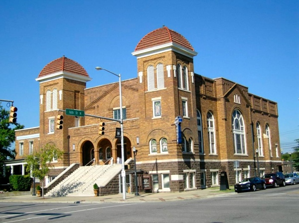 16th Street Baptist Church, now a National Historic Landmark