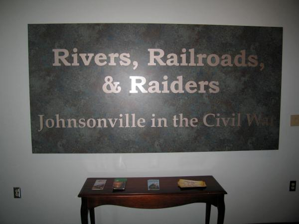 ENTRANCE TO THE JOHNSONVILLE EXHIBIT