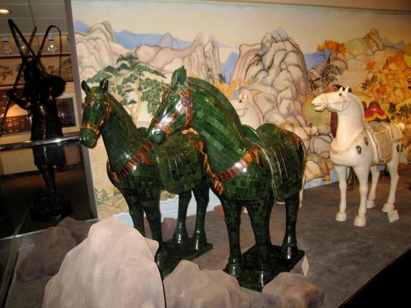 BELZ MUSEUM MEMPHIS JADE HORSES