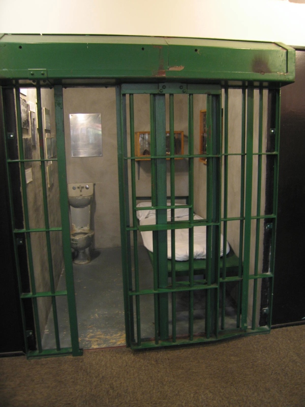 LOUISIANA STATE PENITENTIARY MUSEUM  -  PRISON CELL