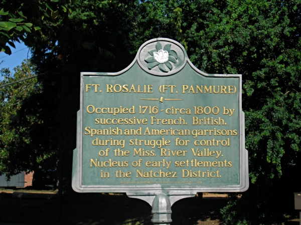 NATCHEZ, MISSISSIPPI  - HISTORICAL  SIGN