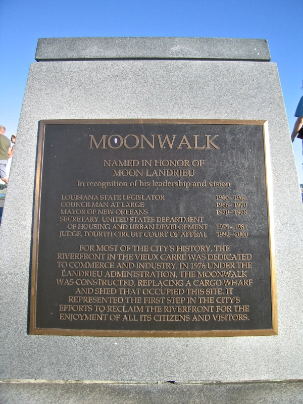 MOONWALK PLAQUE
