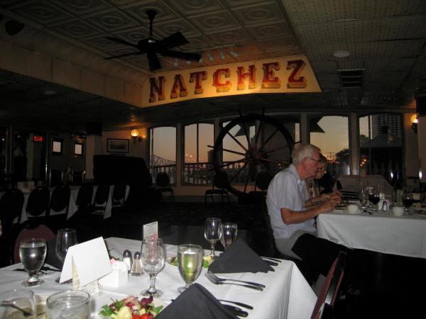 STEAMBOAT NATCHEZ  =  A DINNER CRUISE