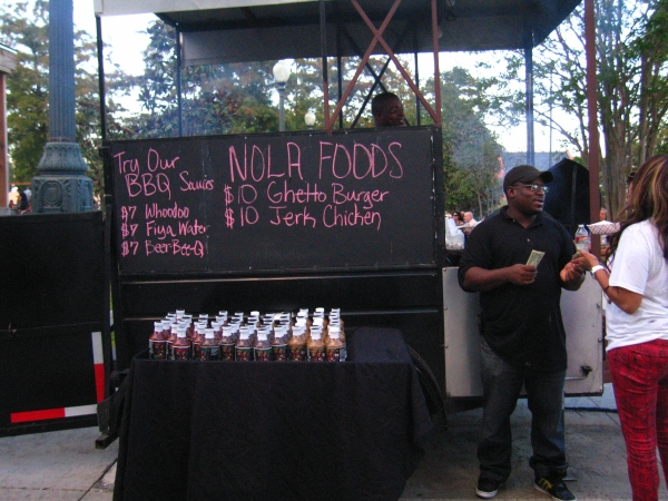 LOUIS ARMSTRONG PARK  -  FOOD VENDOR