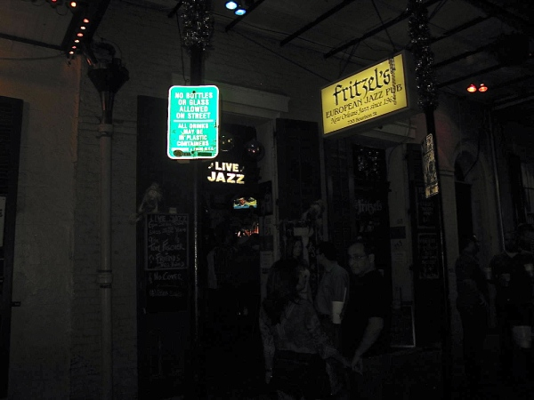 BOURBON STREET, NEW ORLEANS (NIGHT TIME)
