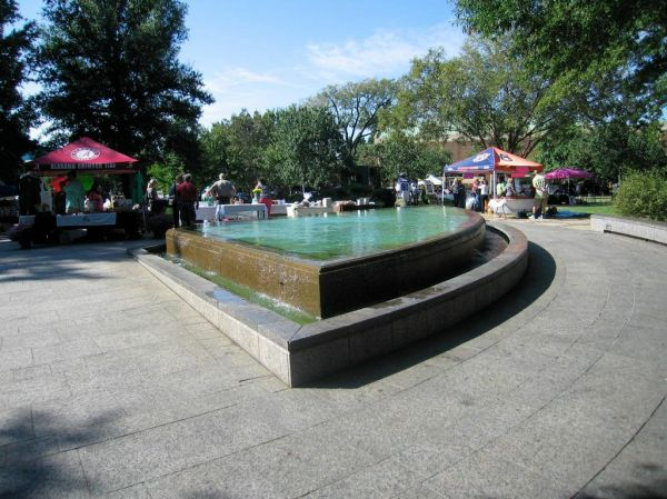 KELLY INGRAM PARK  -  REFLECTING POOL - REPRESENTING PEACE AND HARMONY BETWEEN THE RACES