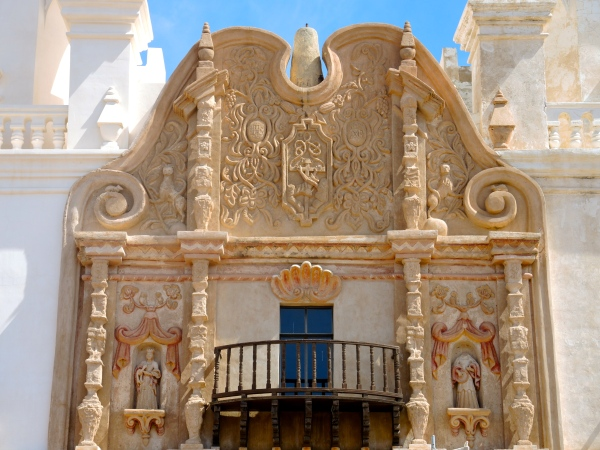 San Xavier Del Bec Mission (Detail)