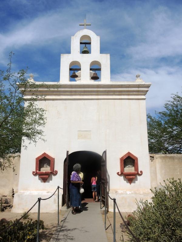 San Xavier Del Bec Mission - A small chapel