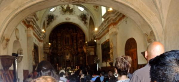 San Xavier Del Bec Mission (Interior view)