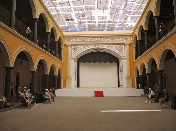 ALAMOS PALACIO MUNICIPAL - INTERIOR - IT CAN HOLD UP TO 700 PEOPLE FOR EVENTS AND CONCERTS