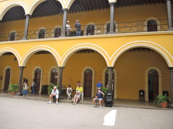 ALAMOS PALACIO MUNICIPAL - UPPER FLOORS CONTAIN THE MUNICIPAL OFFICES OF ALAMOS