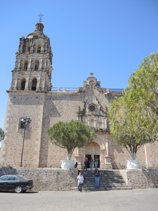 ALAMOS BISHOP REYES CATHEDRAL  -  The church too has a rich history dating back to 1630 when Jesuit missionaries built an adobe church where the Iglesia de Alamos now stands.