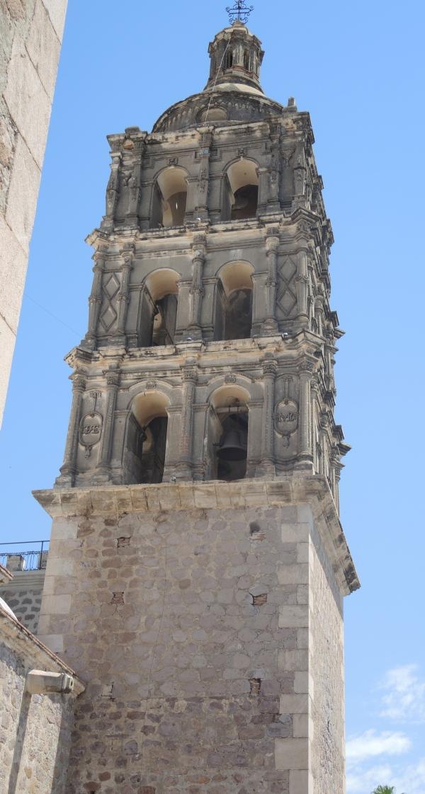 ALAMOS BISHOP REYES CATHEDRAL  -  BELL TOWER