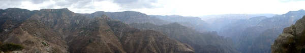 COPPER CANYON PANORAMA