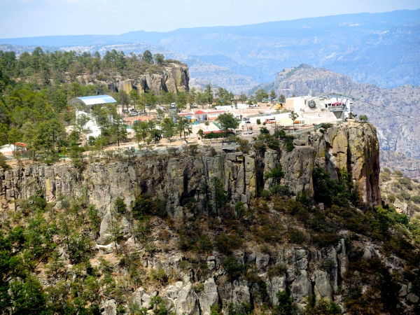 COPPER CANYON CABLE CAR STATION