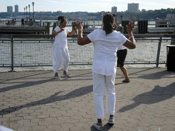 SOLSTICE STEPS  -  DANCES FOR A VARIABLE POPULATION (DVP)  -  JUNE 20  2014 SUMMER ON THE HUDSON'S HARLEM DANCE SERIES