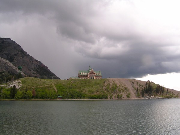Prince of Wales Hotel National Historic Site - The Prince of Wales Hotel overlooks Waterton Lake.