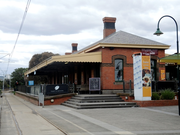 CAFE AT PORT MELBOURNE TRAM STOP