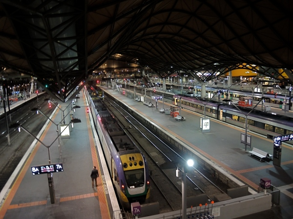 SOUTHERN CROSS RAILWAY STATION  -  MELBOURNE