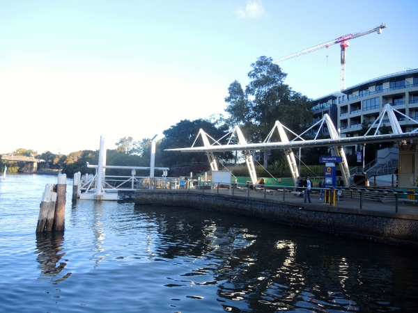 PARRAMATTA FERRY STATION